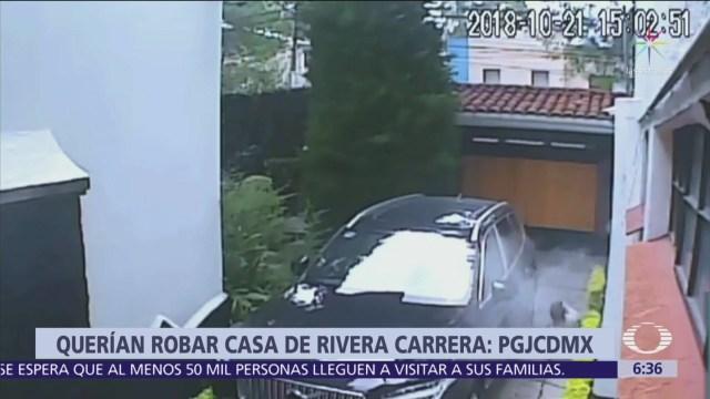 Rinde declaración único detenido por agresión contra casa de Norberto Rivera