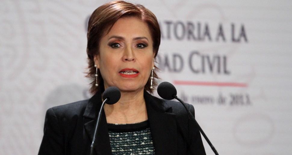 Rosario Robles Berlanga es una de las funcionarias del gobierno de Peña Nieto que más asumió los costos políticos de la corrupción (sociedadtrespuntocero)