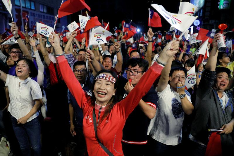 partido progresista democratico taiwan elecciones reves