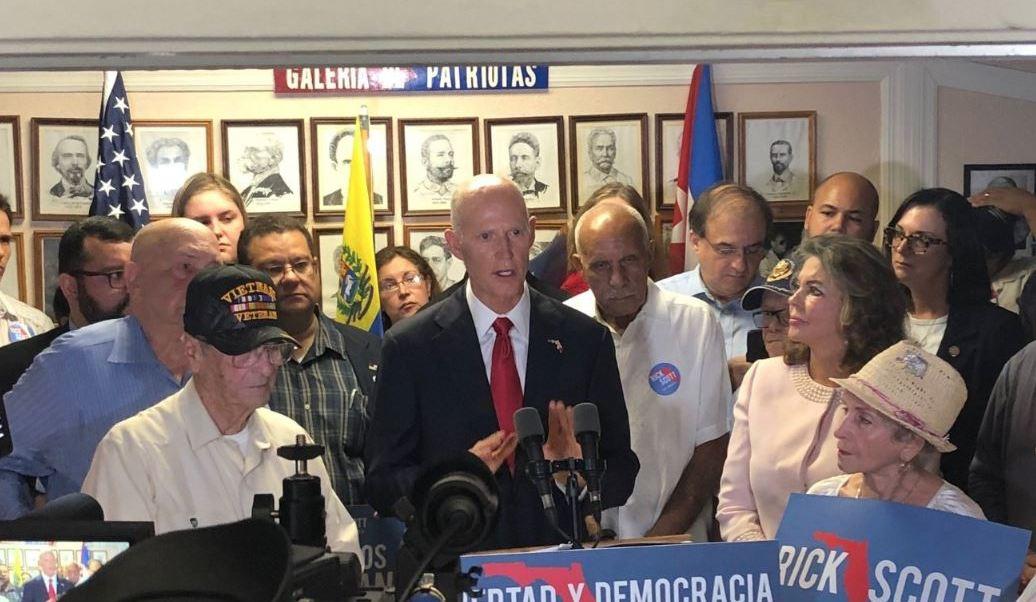 Republicano Rick Scott confirma victoria en Florida