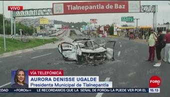 Se investigan presuntos abusos de policías de CDMX: alcaldesa de Tlalnepantla