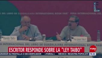 Se Las Metimos Doblada Dice Paco Ignacio Taibo