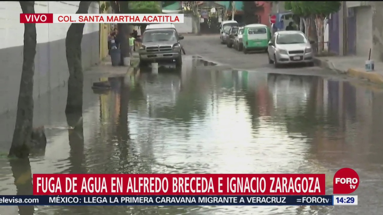 Fuga De Agua Santa Marta Acatitla Elementos Del Sistema De Aguas Colonia Santa Martha Acatitla