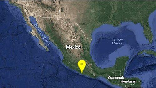 Se registra sismo de magnitud 4.1 en Coyuca de Benitez