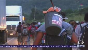 Segunda caravana de migrantes centroamericanos sale de Chiapas
