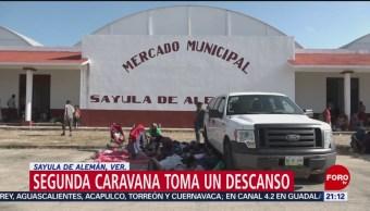 Segunda Caravana Migrante Avanza Veracruz