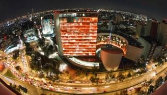Senado se ilumina de naranja por el Día Internacional para la Eliminación de la Violencia de las Mujeres