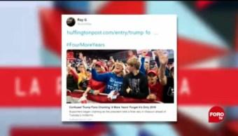 Simpatizantes De Trump Y La Paparrucha Del Día