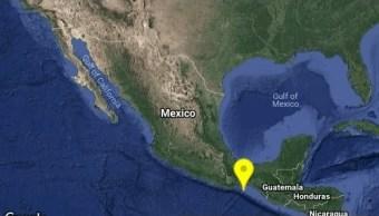 Sismo magnitud 4.3 remece Salina Cruz, Oaxaca