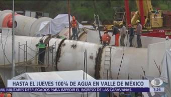 Sistema Cutzamala sigue en reparación y se extiende corte de agua
