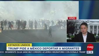 Solicitud masiva de asilo en frontera México-EU obligaría a modificar leyes migratorias