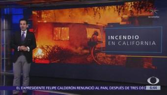 Suman 31 muertos por incendio forestal en California