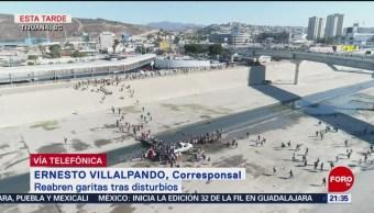 52 Detenidos Por Intentar Cruzar Frontera De Estados Unidos Autoridades Reportan Frontera De Estados Unidos Tijuana, Baja California