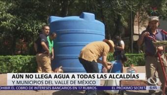 Suministro de agua potable en CDMX será normal el domingo
