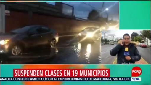 Suspenden clases en 19 municipios de Puebla por frío