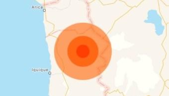 Terremoto 1 de noviembre del 2018 se registra en Chile