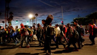 Segob: Continúan 5 mil 605 migrantes en BC