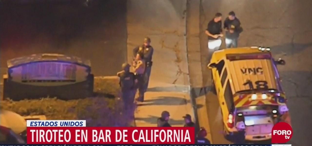 Tiroteo en bar de Thousand Oaks deja 12 muertos, incluido el agresor