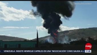 Toma clandestina provoca incendio en Jalisco