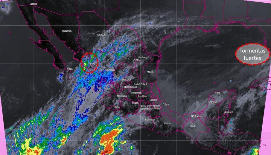 Zona de inestabilidad se forma frente a costas de Michoacán