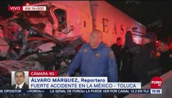 Tráiler Se Queda Sin Frenos México-Toluca CDMX