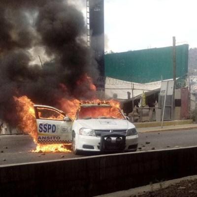 Policía Federal libera la autopista México-Pachuca