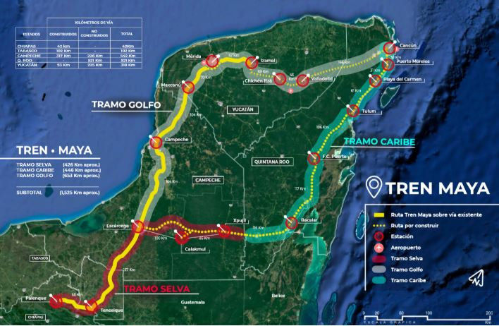 AMLO encabezará reunión sobre Tren Maya con gobernadores