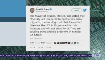 Trump afirma que Estados Unidos no está preparado para una invasión