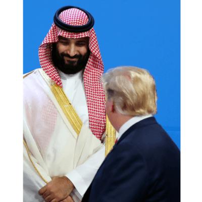 Trump saluda al príncipe saudita, tras polémica por asesinado de Khashoggi