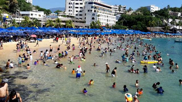 Seguridad Acapulco; saldo blanco durante fin de semana largo
