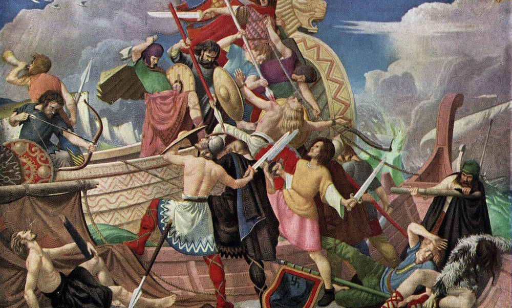 Encuentran espada vikinga del siglo IX