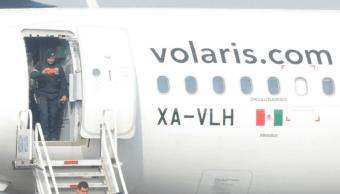 desalojan avion volaris falsa amenaza bomba