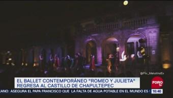 Vuelva la obra Romeo y Julieta al Castillo de Chapultepec