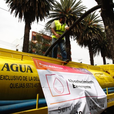 Gobierno de la CDMX mantiene operativo ante megacorte de agua