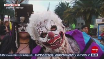 Zombis toman calles de la Ciudad de México