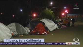 100 migrantes deciden permanecer en deportivo 'Benito Juárez' de Tijuana