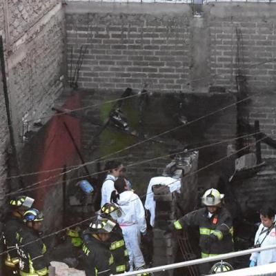 Dan a conocer causas del incendio donde murieron 7 niños en Iztapalapa