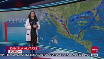 El Clima 'A las Tres' con Daniela Álvarez del 10 de diciembre de 2018