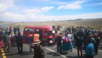 Al menos 19 muertos y 15 heridos dejan accidentes de tráfico en Bolivia