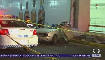 Accidente en Circuito Interior deja dos muertos