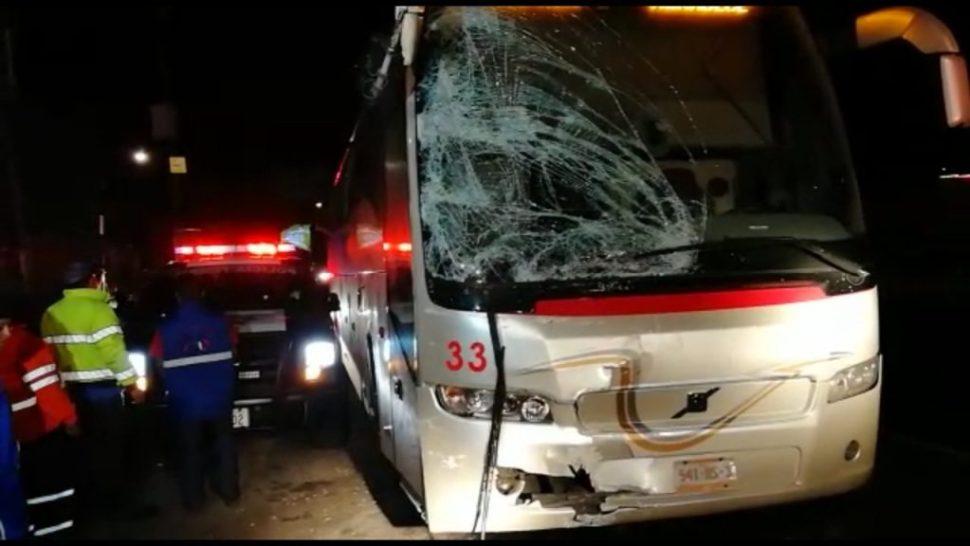Accidentes en la México-Cuernavaca dejan 12 peregrinos lesionados