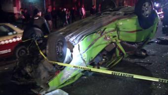 Accidentes en el Valle de México dejan 1 muerto y 9 heridos