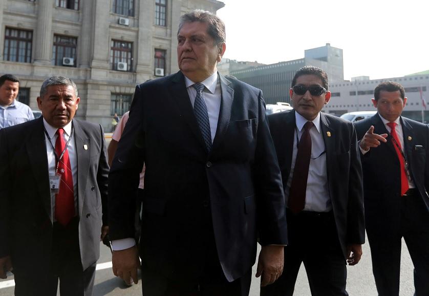 Uruguay rechaza asilo al expresidente peruano Alan García