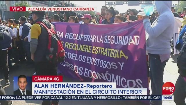 Alcaldes Del Prd Marchan Sobre Boulevard Puerto Aéreo, Alcaldes Del Prd, Boulevard Puerto Aéreo, Presidentes Municipales, Prd, Aeropuerto Internacional De La Ciudad De México