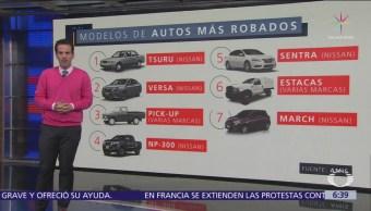AMIS: Tsuru de Nissan, el auto más robado en México