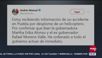 Amlo Accidente Puebla Martha Erika Puebla Moreno Valle