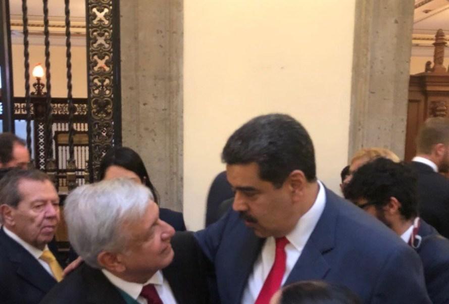 Maduro revela que mantuvo una 'extraordinaria conversación' con AMLO