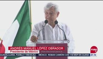 AMLO Presenta Plan Nacional Hidrocarburos Campeche