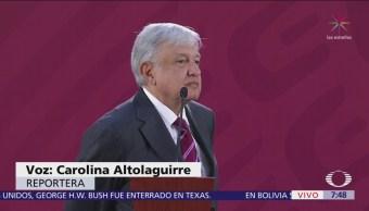 AMLO responde a polémica surgida por vuelos de aeropuerto Santa Lucía