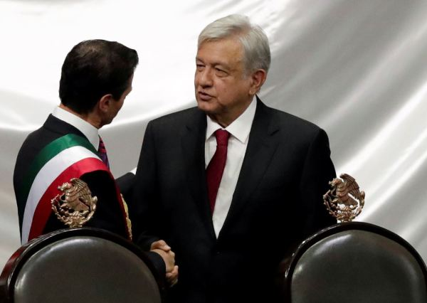 AMLO protesta como nuevo presidente de México
